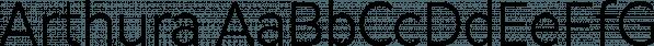 Arthura font family by Seniors Studio