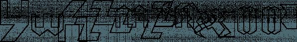 TessieLettersOSZ font family by Ingrimayne Type
