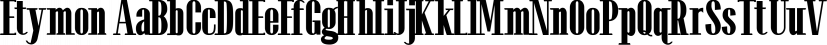 Etymon font family by A New Machine