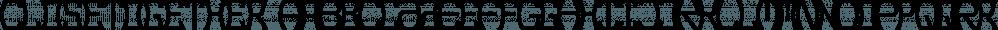 CloseTogether font family by Ingrimayne Type