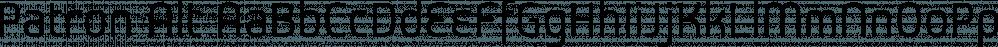 Patron Alt font family by Vesturbaer Fonts