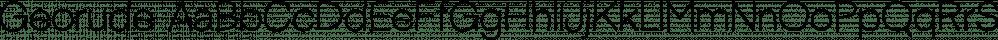 Georude font family by Letterhend Studio