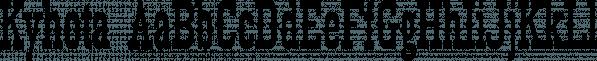 Kyhota font family by Ingrimayne Type