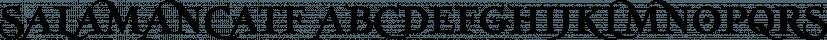 SalamancaTF font family by Typefaith Fonts