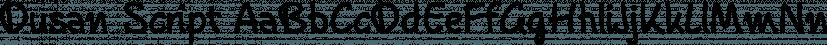 Dusan Script font family by Tour de Force Font Foundry