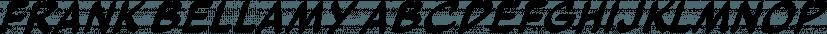 Frank Bellamy font family by K-Type