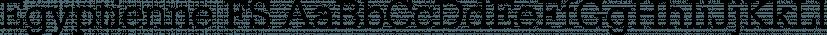 Egyptienne FS font family by FontSite Inc.