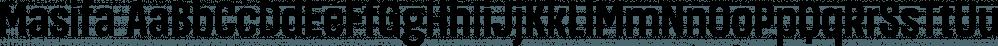 Masifa font family by Hurufatfont Type Foundry