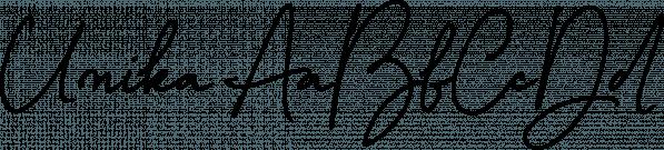 Unika font family by Ana's Fonts