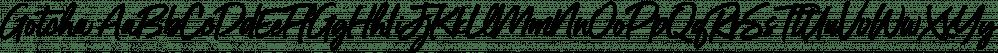 Gotcha font family by Nicky Laatz
