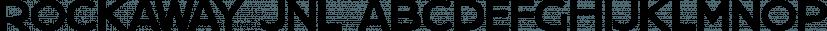 Rockaway JNL font family by Jeff Levine Fonts