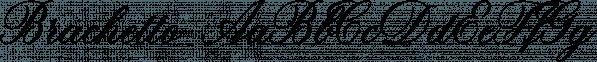 Brachetto font family by Fonts by Roland Hüse