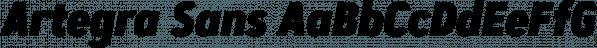 Artegra Sans font family by Artegra