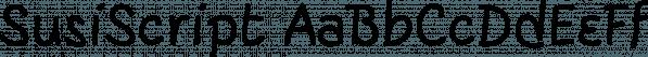 SusiScript font family by Ingrimayne Type