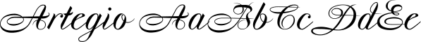 Artegio font family by Wiescher-Design