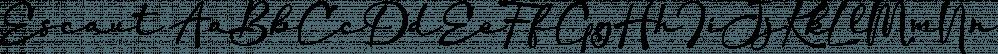 Escaut font family by Eurotypo