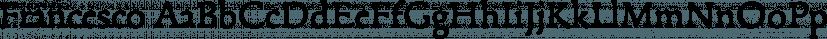 Francesco font family by BAT Foundry