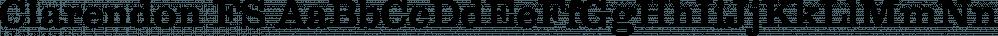 Clarendon FS font family by FontSite Inc.