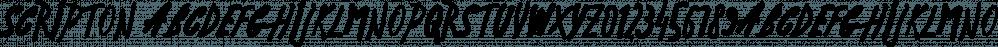 Scripton font family by Tour de Force Font Foundry