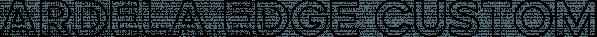 Ardela Edge Custom Type Family font family by Ellen Luff