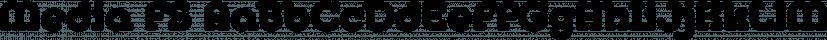 Media FS font family by FontSite Inc.