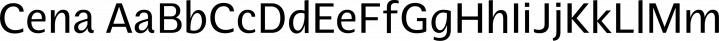 Cena font family by SevenType