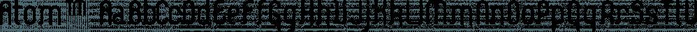 Atom™ font family by MINDCANDY