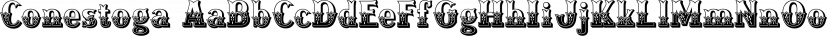 Conestoga font family by FontMesa
