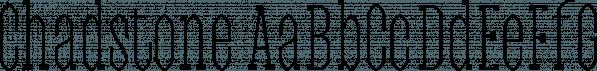 Chadstone font family by Jadugar Design Studio