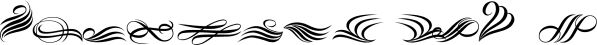 Fleurons Six font family by Wiescher-Design