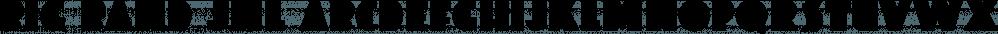 Big Band JNL font family by Jeff Levine Fonts