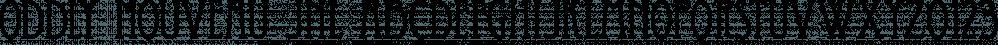 Oddly Nouveau JNL font family by Jeff Levine Fonts