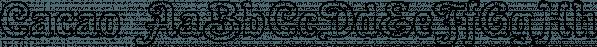 Cacao font family by Wiescher-Design