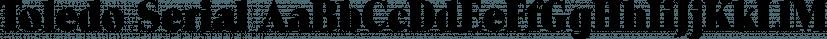Toledo Serial font family by SoftMaker