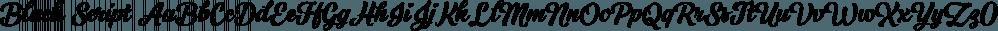 Black Script font family by Fenotype