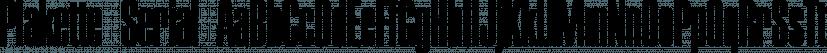Plakette Serial font family by SoftMaker