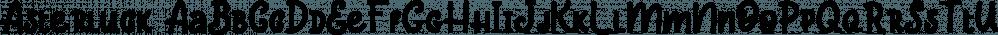 Asterluck font family by Letterhend Studio