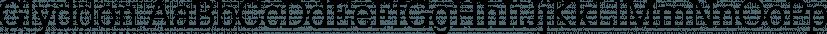 Glyddon font family by FontSite Inc.