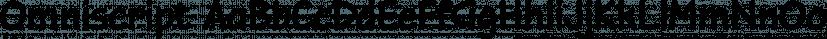 Omniscript font family by Aviation Partners