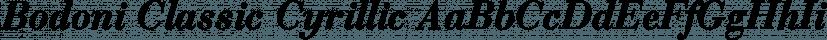 Bodoni Classic Cyrillic font family by Wiescher-Design