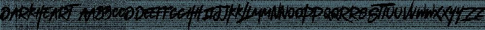 DarkHeart font family by VPcreativeshop