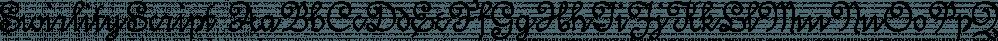 SwirlityScript font family by Ingrimayne Type
