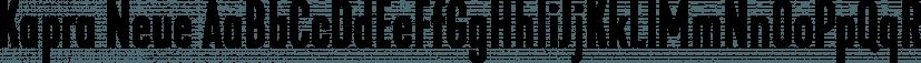 Kapra Neue font family by Typoforge Studio