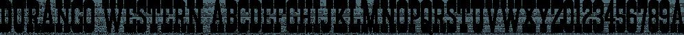 Durango Western font family by Sharkshock