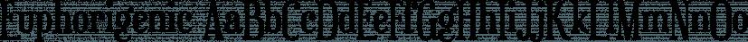Euphorigenic font family by Typodermic Fonts Inc.