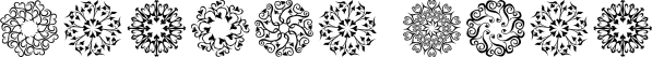 Karika Hearts font family by Deniart Systems