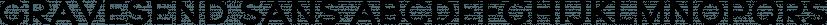 Gravesend Sans font family by Device