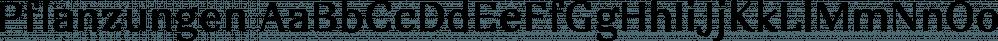 Pflanzungen font family by FSdesign