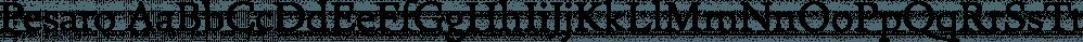 Pesaro font family by Hoftype