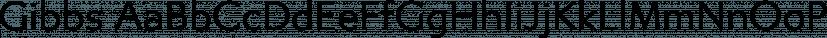 Gibbs font family by Typetanic Fonts
